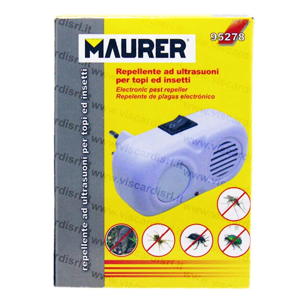 Derattizzatore per topi e insetti ad ultrasuoni MAURER