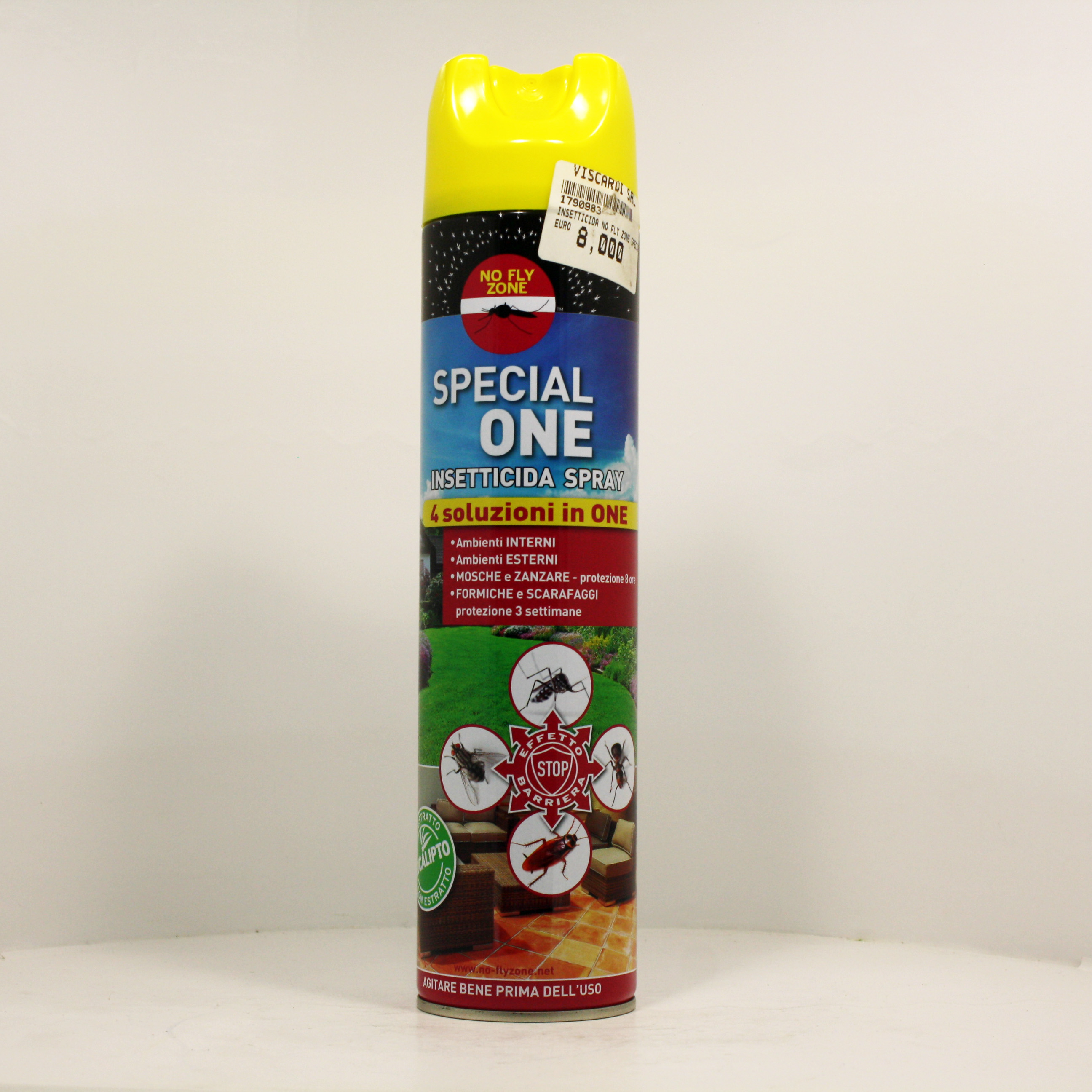 No fly zone special one insetticida spray 4 soluzioni in for Formiche volanti in casa