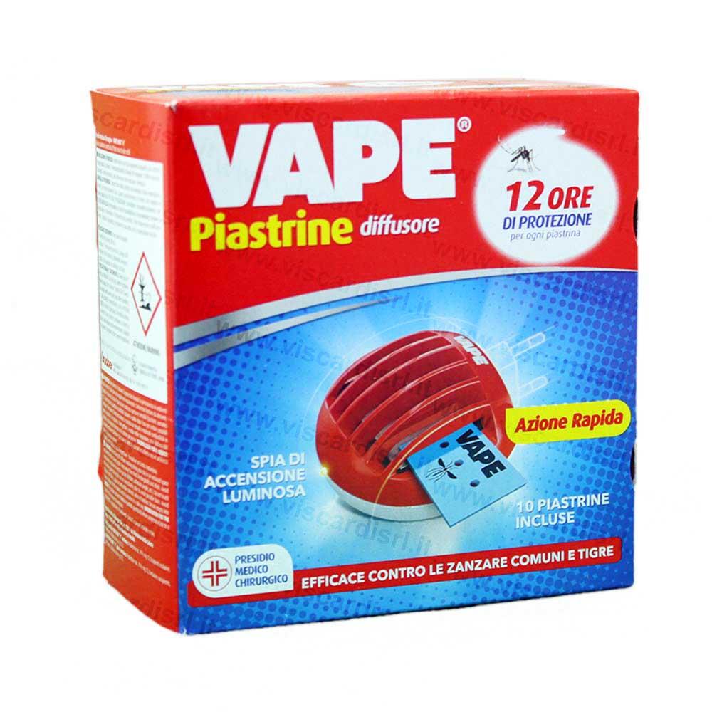 Vape antizanzare diffusore con 10 piastrine incluse - Contro le zanzare in casa ...