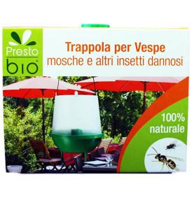 Trappola Vespe, Mosche e altri insetti dannosi biologica PRESTO BIO