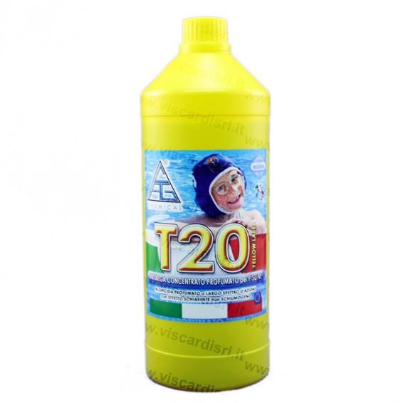 Antialghe per piscine t20 chemical profumato - Antialghe per piscina dosaggio ...