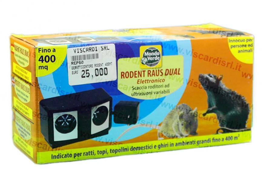 Repellente per topi e ratti ad ultrasuoni MONDO VERDE