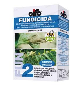 Fungicida Biologico CIFO CYPRUS 25 DF Altissima efficacia per frutticole, orticole e ornamentali viscardi srl