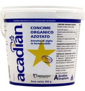 Concime organico azotato ACADIAN BIOGARD biologico