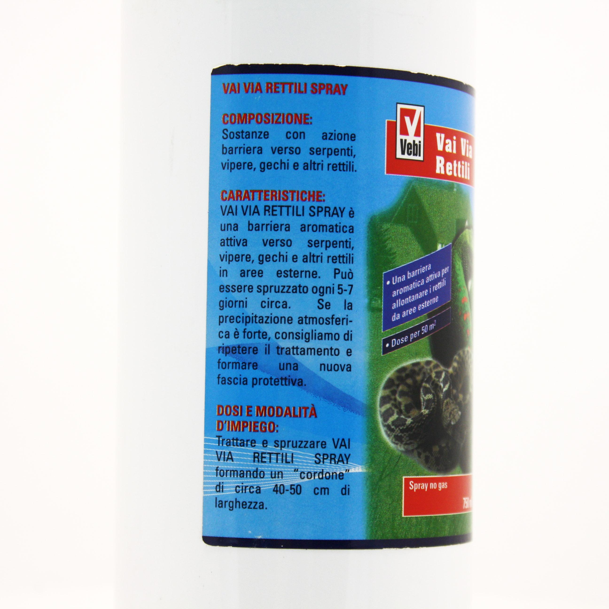 Prodotti Contro I Gechi vai via rettili vebi repellente spray