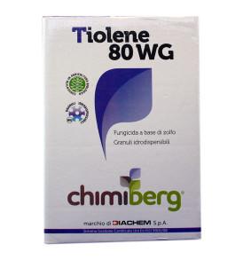 Fungicida Biologico a base di Zolfo TIOLENE 80 WG CHIMIBERG