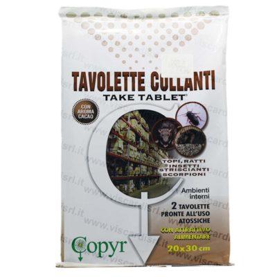 Trappola per topi COPYR TAKE TABLET Tavolette Collanti atossiche