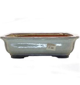 Vaso per Bonsai Rettangolare Beige 26x35x10.5cm