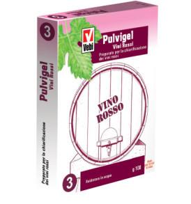 Chiarificazione Vino VEBI PULVIGEL Preparato per Vini rossi