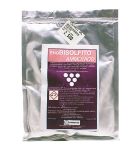 ASTITECNO ENOBISOLFITO AMMONICO Fermentazione più regolare ENOLOGIA