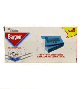 JOHNSON BAYGON 30 Piastrine zanzare insetticida