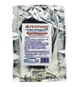 FERRARI Sanitizzante E224 Potassio Metabisolfito per sanitizzazione di attrezzature ad uso alimentare