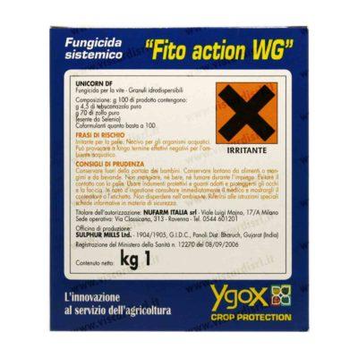 Fungicida Oidio FITO ACTION WG UNICORN DF sistemico