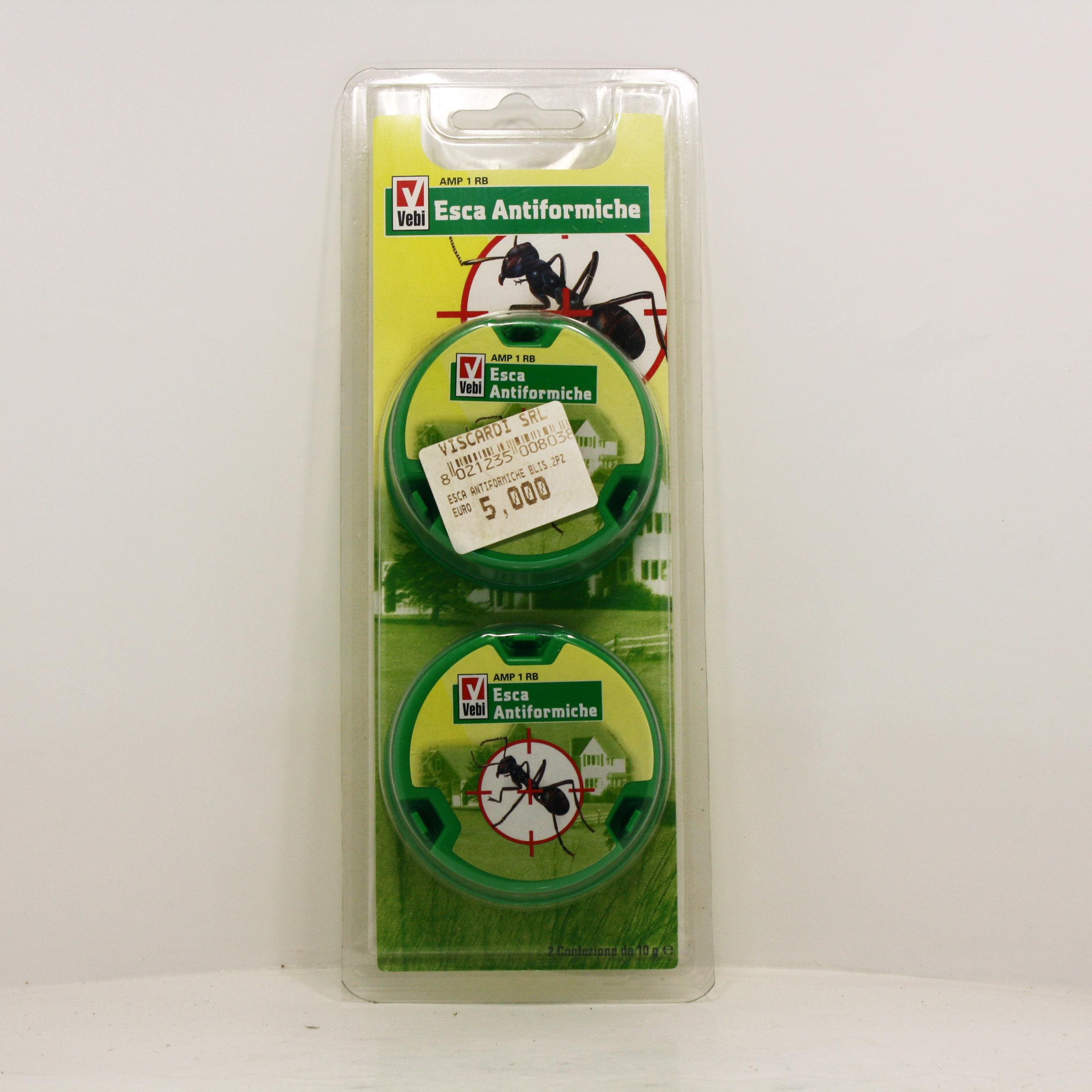 Vebi esca antiformiche insetticida pronta all uso for Esche per formiche