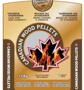 Pellet di Abete Bianco CANADIAN WOOD Canadese per stufe ENplus A1