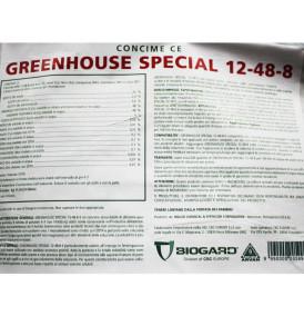 Concime fogliare e fertirrigazione NPK 12-48-8 BIOGARD 11 Kg