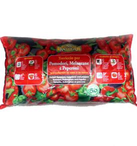 terriccio biologico pomodori
