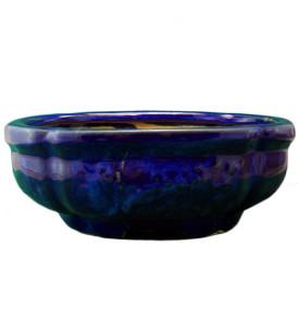 Vaso per Bonsai blu smeraldo varie dimensioni
