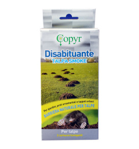 Anti Talpe Disabituante TALPA SMOKE COPYR barriera naturale