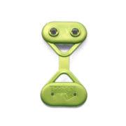 Clip fissaggio reti ombreggianti, frangivento o frangivista di colore verde