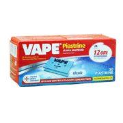 VAPE Piastrine 30 ricariche insetticida 12 ore di protezione