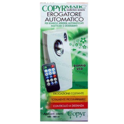 Insetticida Automatico COPYR MATIC Erogatore per bombole aerosol insetticide o deodoranti