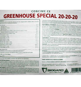Concime NPK 20-20-20 BIOGARD NUTRI LEAF Kg 11,3