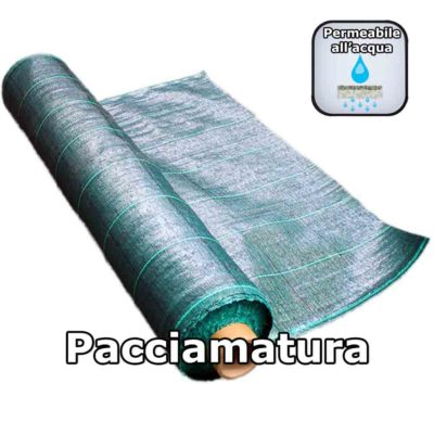 Telo Pacciamatura Verde Film in Polipropilene protettivo per il terreno