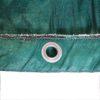 Telo ombreggiante occhiellato Verde al 90% Rete oscurante al m²