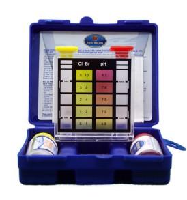 Test Piscina Kit SWIM DOCTOR POOL per pH, cloro libero e bromo