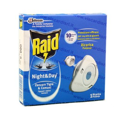 Insetticida RAID Night & Day Mosche e Zanzare