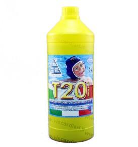 Antialghe per Piscine T20 CHEMICAL concentrato e profumato