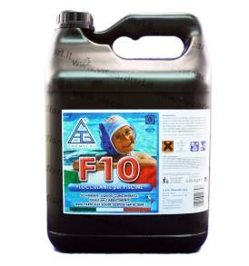 Flocculante Piscina F10 CHEMICAL 5Kg prevenzione dagli intorbidimenti