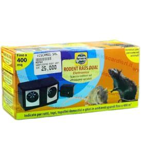 Repellente per topi e ratti ad ultrasuoni MONDO VERDE fino a 400m²