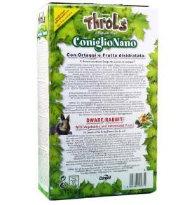 Mangime Conigli NUTRENA THROLS con frutta disidratata per coniglio nano