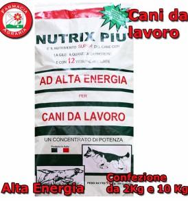 Mangime Cani da lavoro NUTRIX PIU Crocchette Alta Energia