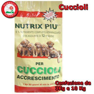 Crocchette per Cuccioli Cane di taglia media e grande in accrescimento NUTRIX PIU