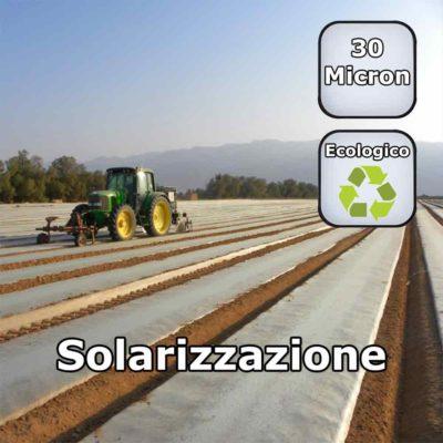 Solarizzazione del Terreno Telo Film in Polietilene al Kg per disinfestazione in Agricoltura