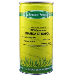 Indivia Scarola bianca di Napoli 500g semi SEMIORTO
