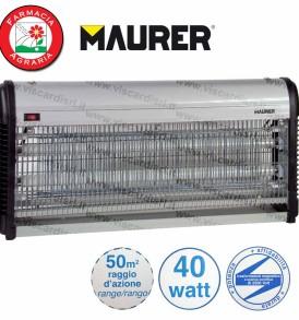 Insetticida Elettrico MAURER Elettroinsetticida 40 Watt 50m²