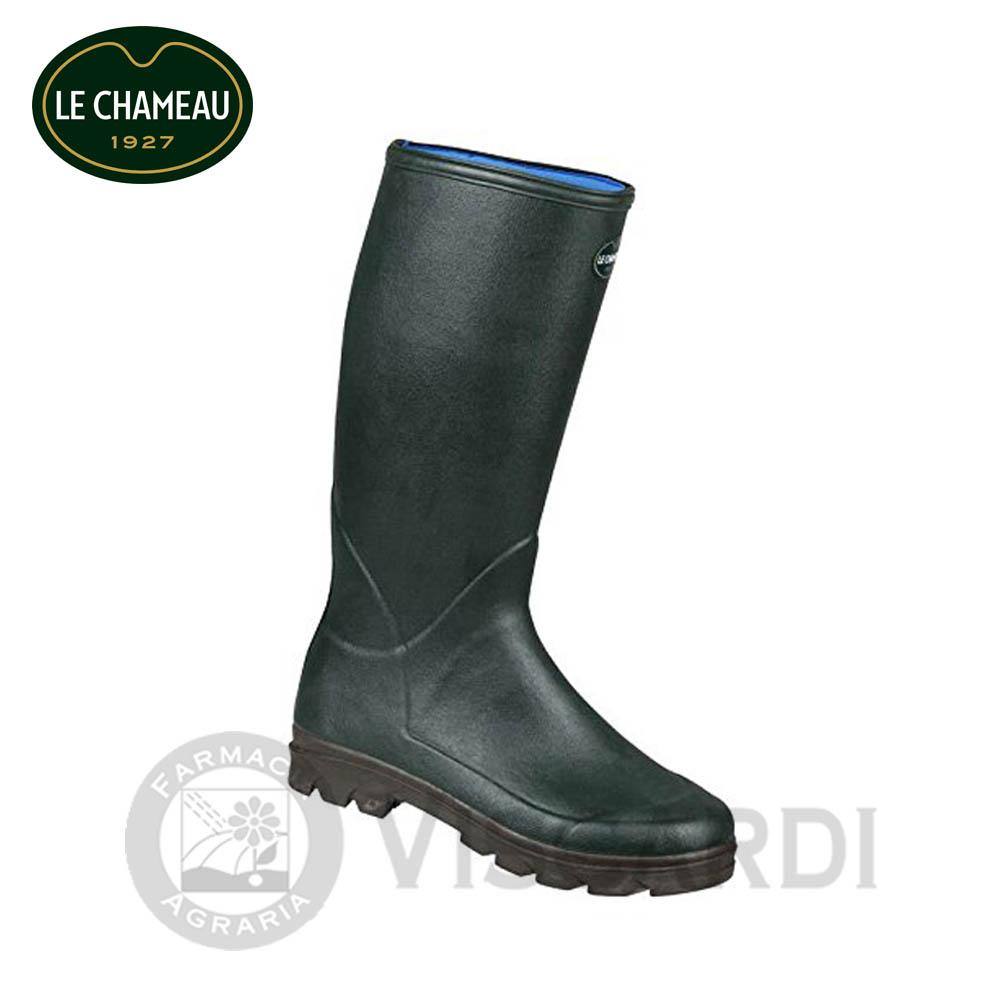 Le Chameau Anjou Evo Neo Stivali in UK 10.5 VERDE CAMMELLO