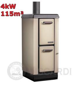 Stufa a legna NORDICA Mignon 4 kW 115m³ Colore Cappuccino