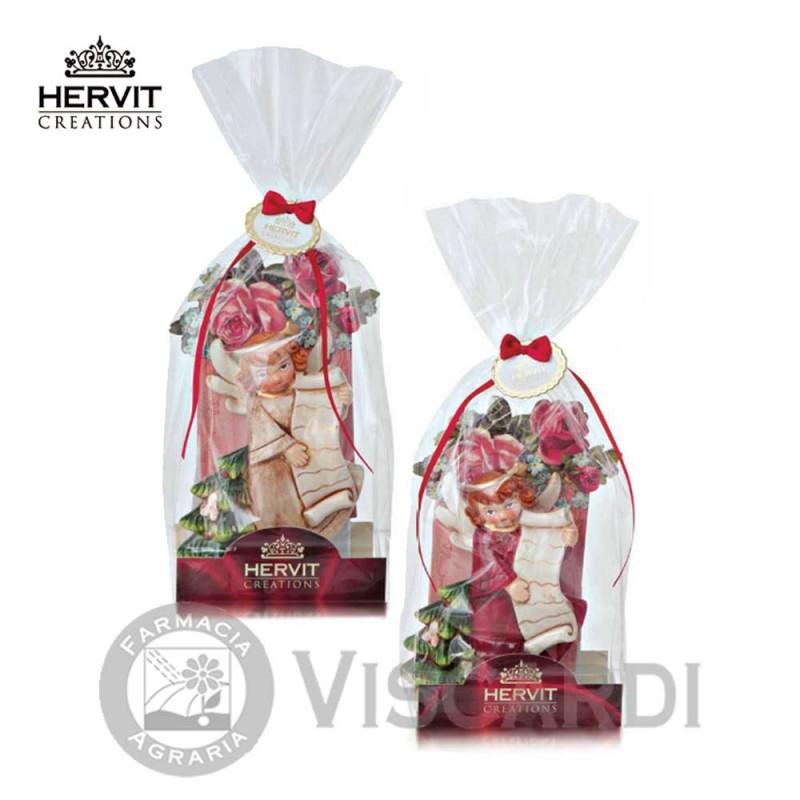 Addobbi Natalizi Hervit.Angelo Ceramica 14 Cm Hervit Natale Decorazioni Natalizie