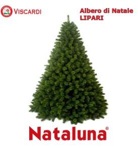 Albero di Natale Artificiale folto Lipari NATALUNA 4 altezze diverse