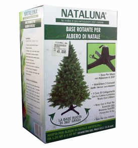 Base albero di Natale NATALUNA girevole - rotante a 360°