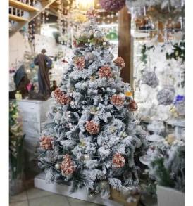 Albero Natale Innevato ELBA NATALUNA 2 altezze diverse