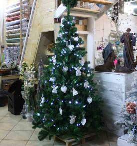 Albero Natale Moderno MONTE BAKER NATALUNA 2 altezze diverse