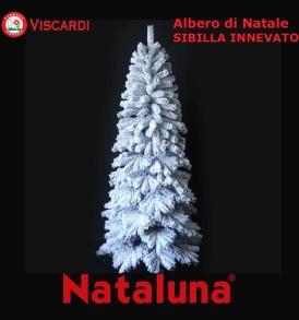 Albero di Natale Innevato SIBILLA NATALUNA 2 altezze diverse