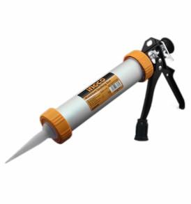 Pistola per silicone in alluminio INGCO
