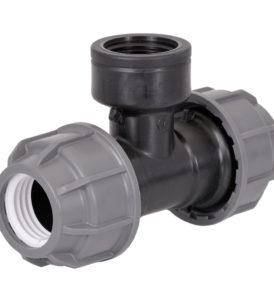 TEE Raccordo a T Filettato Femmina PLASSON idraulica irrigazione